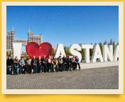 Nour-Soultan (ancienne Astana). Kazakhstan