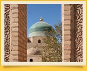 Der Komplex von Pachlawan Machmud. Chiwa, Usbekistan