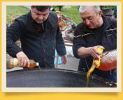 Приготовление плова. Узбекская национальная кухня