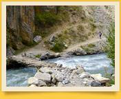 Река Сабах. Баткенский район, Кыргызстан