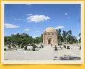 Samaniden-Mausoleum. Buchara, Usbekistan