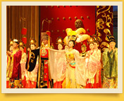 Presentation of Chinese theater. Chinese traditional theater