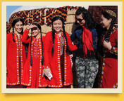 Turkmenischen Frauen