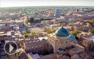 Wunderschöne aussischten von Samarkand, Chiwa und Buchara (zeitrafferfilm)