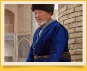 Узбекский чапан