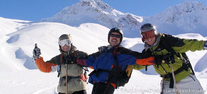 Горные лыжи в Чимгане. Зимний семейный отдых в горах Узбекистана
