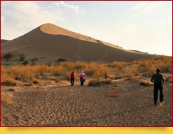 Parque Nacional Altyn Emel en Kazajistán