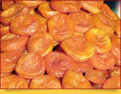Uryuk aus Usbekistan. Getrocknete Aprikosen