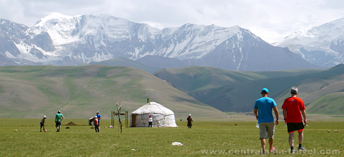 Юртовый Лагерь (3600 м), тур в Кыргызстан