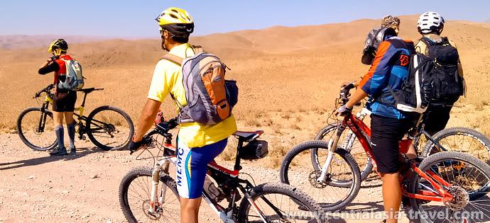 Viajes en bicicleta por Uzbekistán