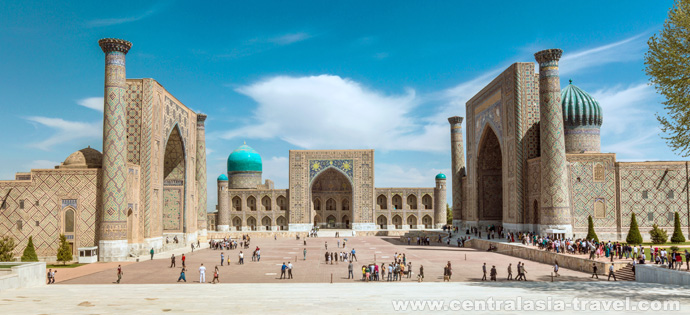 Регистан. Самарканд, Узбекистан. Туры в Узбекистан