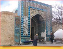 Усыпальница Дахма-и-Шахон, Достопримечательности Коканда, Узбекистан