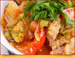 Damlamá (dimlamá), un plato saludable y nutritivo de la cocina uzbeka