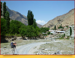 Les monts Fan(Fansky). Tadjikistan, Pamir-Alaï