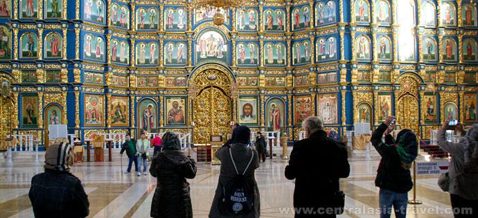 Cathédrale Uspensky. Nour-Soultan, Kazakhstan