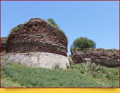 Руины древней Габалы. Габала