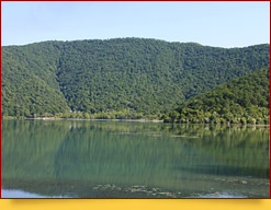 Озеро Нохур. Габала