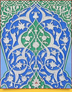 Орнаментальное искусство резьбы по ганчу в Узбекистане