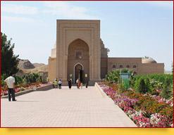 El mausoleo de Hakim At-Termizi. Termez, Uzbekistán
