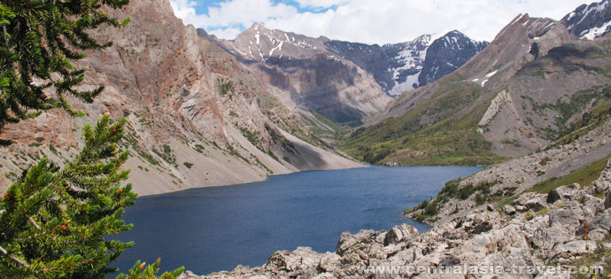 Конный тур в горах Кыргызстана
