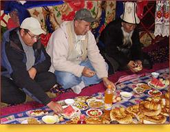 Orientalische Gastfreundschaft