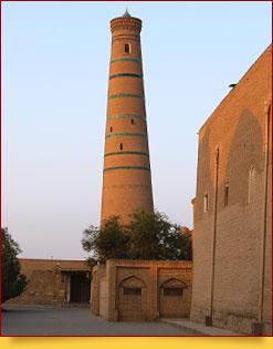 Dschuma Moschee. Chiwa, Usbekistan