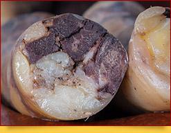 Kazy. Hausgemachte Wurst aus Pferdefleisch