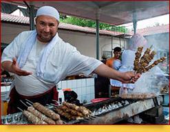 Shashlik-Kebab Uzbeko