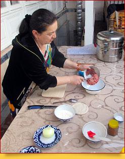Khanum – le plât traditionnel ouzbek