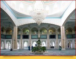 Hazrat Sultan Moschee in Nur-Sultan