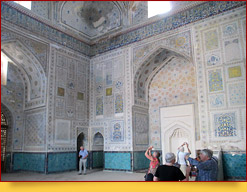 Kok-Gumbaz Moschee. Schachrisabs