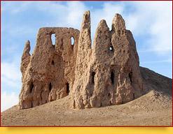 Die Festung von Kirk Kis Kala