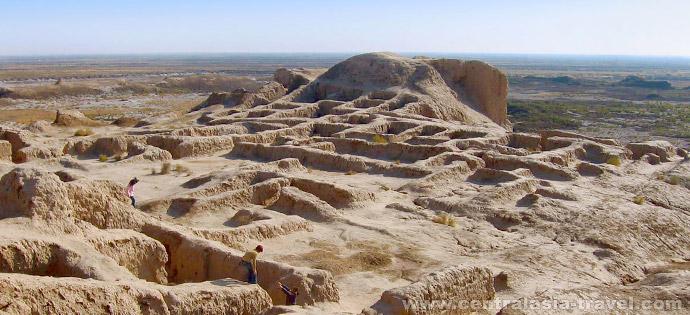Tuprak-Kala Fortress