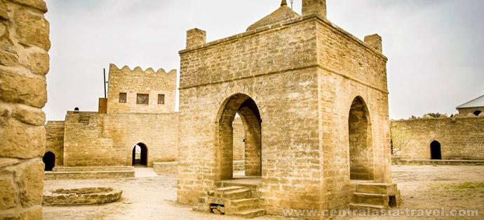 Templo de adoradores del fuego Ateshgah. Bakú (Apsheron Peninsula), Azerbaidzhán