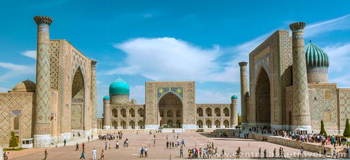 Регистан, Самарканд. Туры в Узбекистан