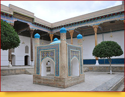Baha-ud-din Naqshband Complex. Bukhara, Uzbekistan