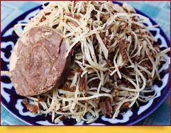 Narín, un plato de la cocina uzbeka