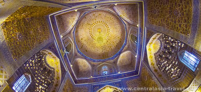 мавзолей Гур-Эмир. Самарканд, Узбекистан. Туры в Узбекистан, тур на новый год, новогодний тур