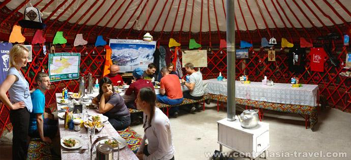 Юрта, тур в Кыргызстан