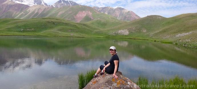 Озёра долины реки Ачик-Таш, тур в Кыргызстан