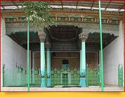 Архитектурный комплекс Хазрати-Бобо (кишлак Чорку, г.Исфара)
