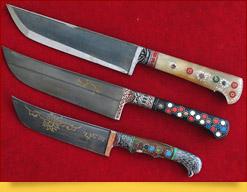 Couteaux ouzbeks