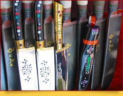 El cuchillo uzbeko, Pichak
