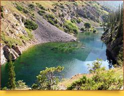 Le lac Sari-Tchelek