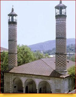 Мечеть Юхары Гевхар ага. Шуша