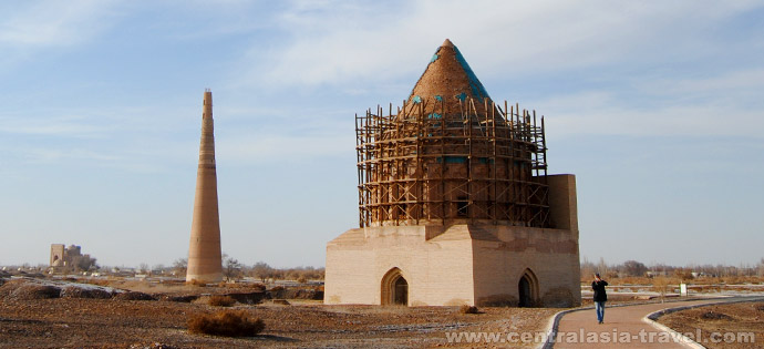 Мавзолей Султана Текеша-Хорезмшаха. Куня-Ургенч, Туркменистан