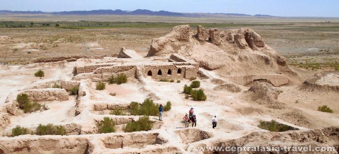 Городище Топрак-кала, Убекистан
