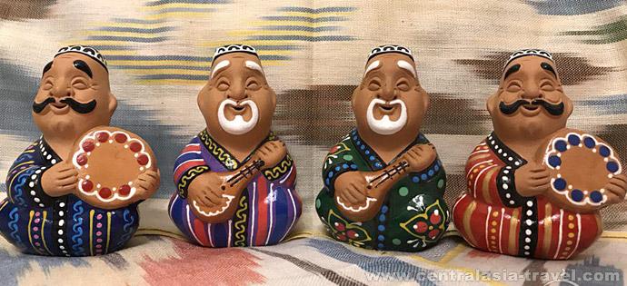 Узбекские керамические сувениры