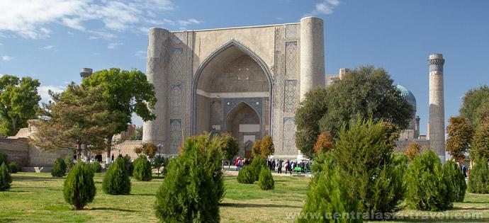 Мечеть Биби-Ханум. Самарканд, Узбекистан