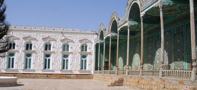 Дворец Ситораи Мохи Хоса. Бухара, Узбекистан